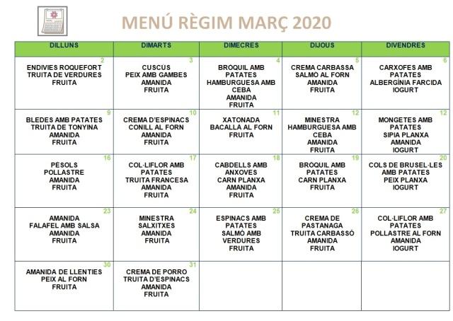 regim març