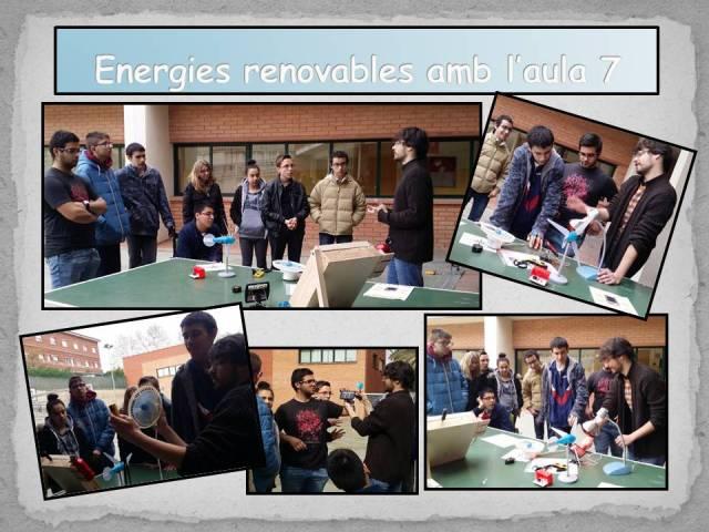 Energies renovables amb l'aula 7